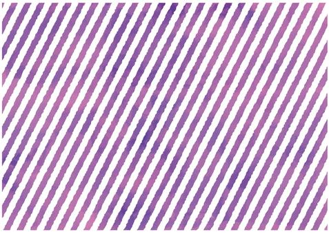 Purple water color stripes