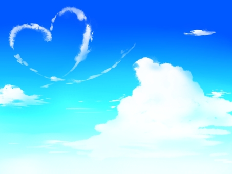Blue Sky (Heart Cloud)