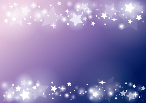 Purple Starry Starry Sky Frame