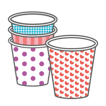 Image of paper cup (cute type)