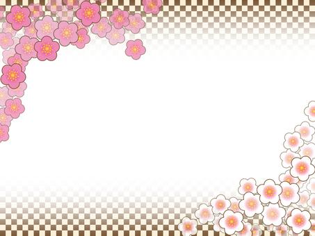 框架 - 紅色李子白色李子01