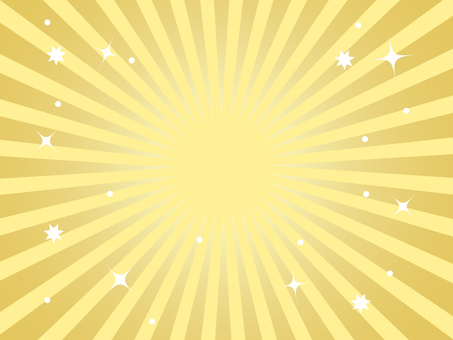 Radiation background gold