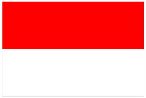 National flag _ Indonesia