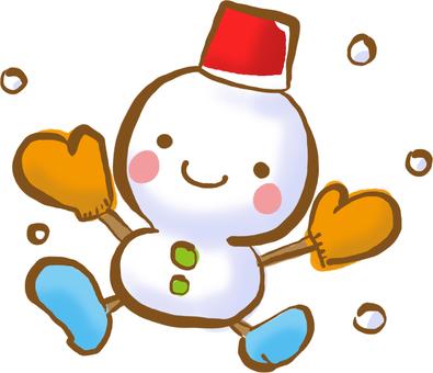 My legs grew! snowman