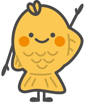 Food character [Taiyaki]
