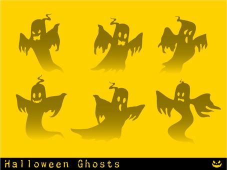 Halloween Ghosts 1