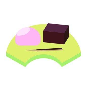 Japanese confectionery set 1
