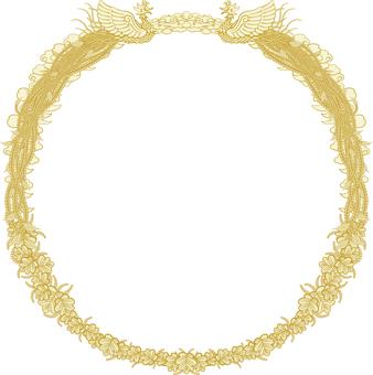 Certificate frame Background transparent circle