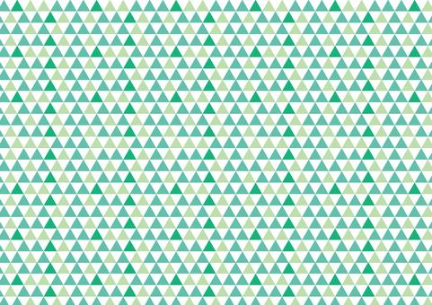 几何图案三角形绿色