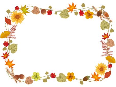 Fall leaves _ frame