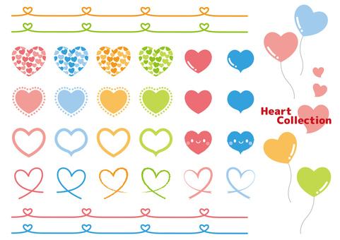 Heart Material Various
