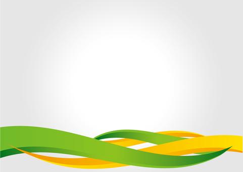 背景_波設計_綠色