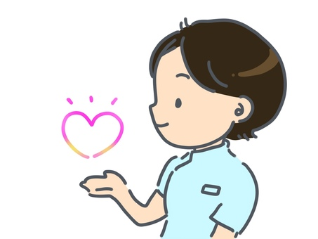 Acupuncture and moxibustion clinic teacher heart