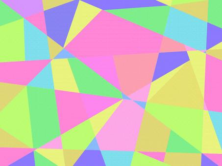 Wallpaper fancy geometric pattern