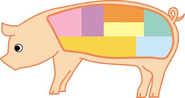 Pork part