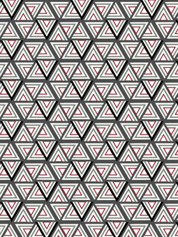 Overlapping triangular texture