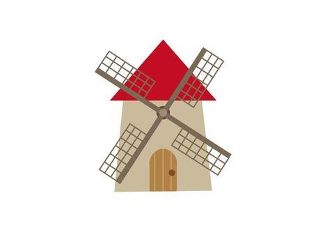Windmill hut