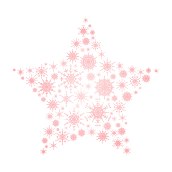 Snow crystal star 4