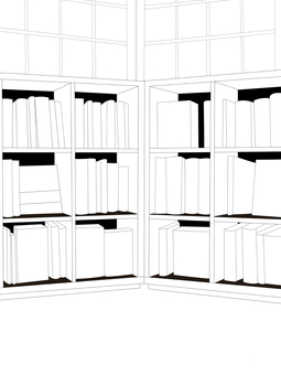 Bookshelf B & W 3