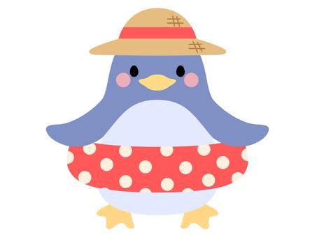 Penguin illustration material