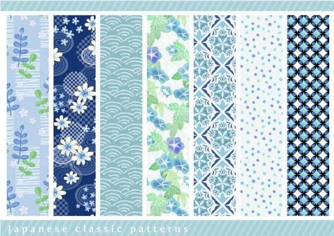 Pattern set 037 Summer flowers