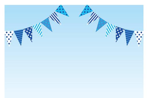 Summer event flag ☆ background image ☆