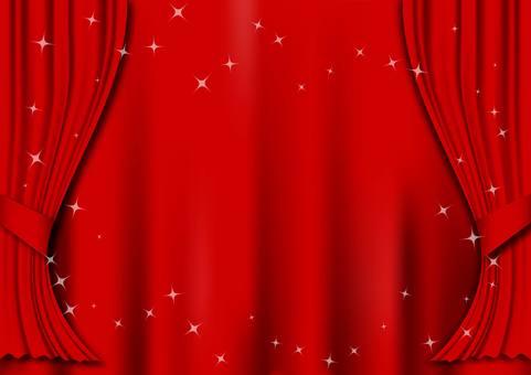 Illustration of curtain