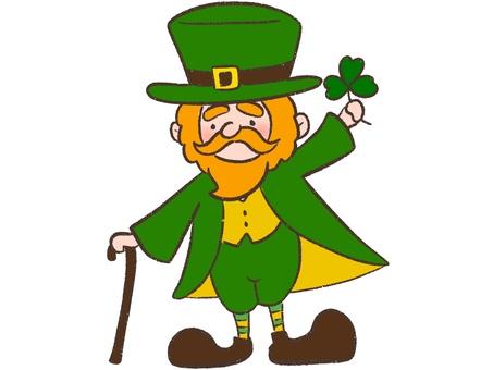 St. Patrick's Day Leprechaun