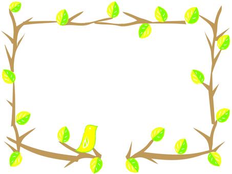 나뭇 가지와 새