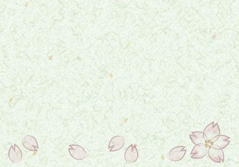 종이 벚꽃 A