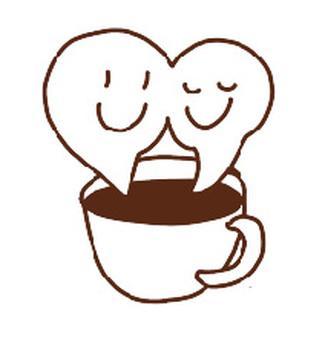 咖啡館咖啡蒸汽字符