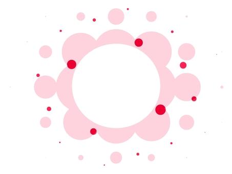 Frame frame pattern round color
