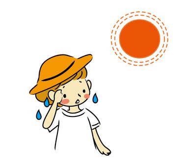 Sweat (upper body)