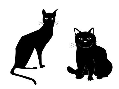 猫シルエット2