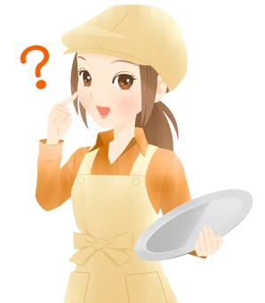 カフェ店員(疑問)