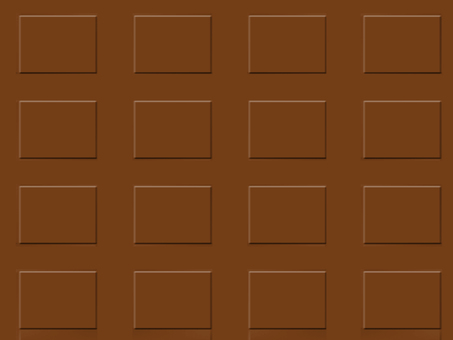 Chocolate bar background material
