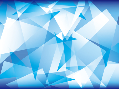 Wallpaper Gradation Blue Crystal 1
