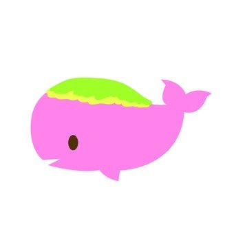 Dolphin whale