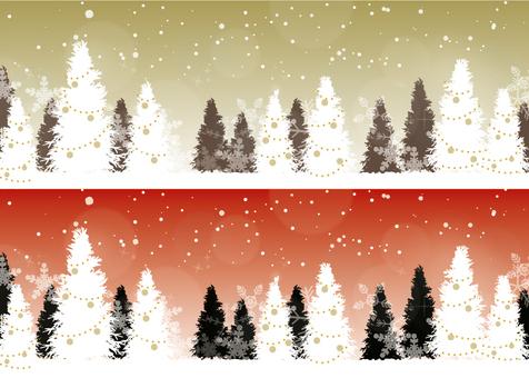 クリスマスのバナー2