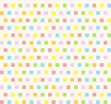Colorful pattern - square M