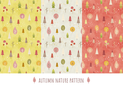 Autumn background pattern 003 forest