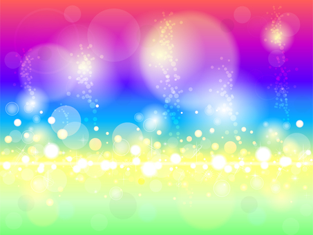Rainbow shiny background