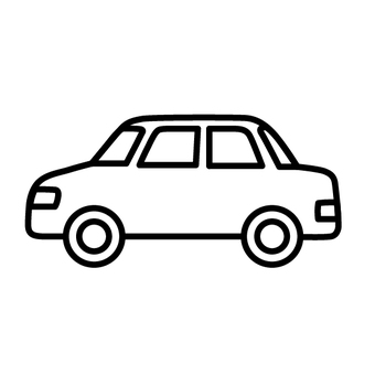 ac insurance car line drawing sideways vehicle