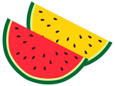 Bicolor watermelon