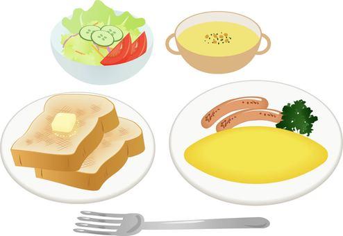 서양 아침 식사