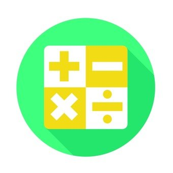 Flat icon - Arithmetic operation