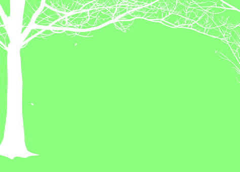 Branch Fall Winter Green