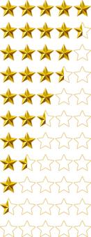Ranking Ratings Star