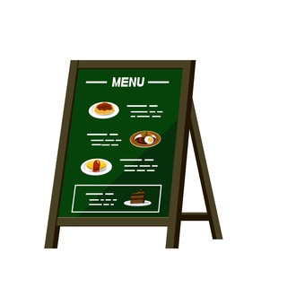 Stand signboard