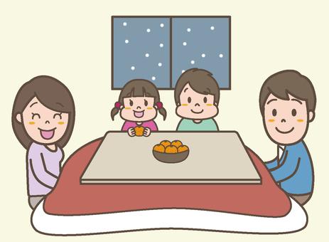 Kotatsu in family